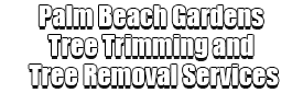 Palm Beach Gardens Tree Trimming and Tree Removal Services Logo-We Offer Tree Trimming Services, Tree Removal, Tree Pruning, Tree Cutting, Residential and Commercial Tree Trimming Services, Storm Damage, Emergency Tree Removal, Land Clearing, Tree Companies, Tree Care Service, Stump Grinding, and we're the Best Tree Trimming Company Near You Guaranteed!